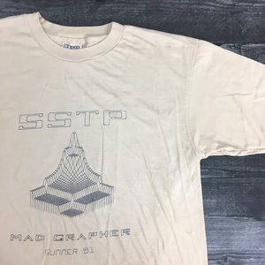1981 Mad Grapher Hanes 50/50 Beefy Tee